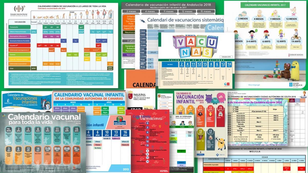 Calendario 2020 Pais Vasco.Novedades En Los Calendarios Vacunales De Las Comunidades