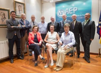 Miembros del CAV-AEP en 2014